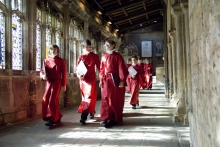 Bristol Cathedral Choristers appear on The One Show
