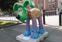 'Gromit Unleashed' Sculptures at the Cathedral