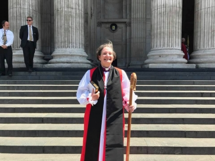 Consecration blog - the new Bishop of Bristol