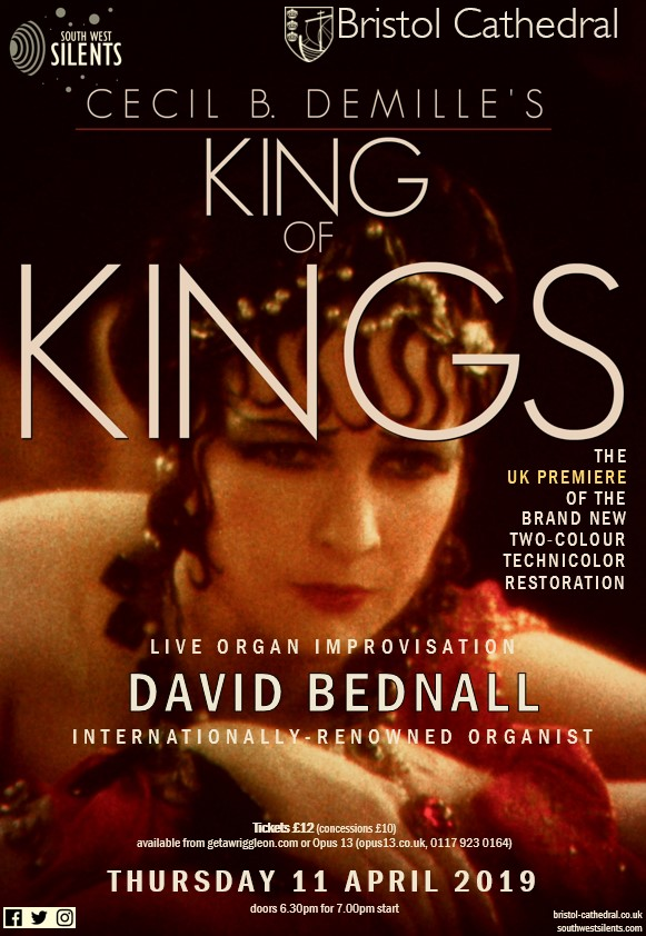 King of Kings (1927) - Cinema in the Cathedral - Bristol